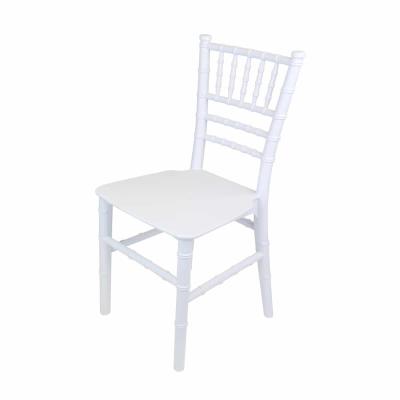 Child tiffany chair white