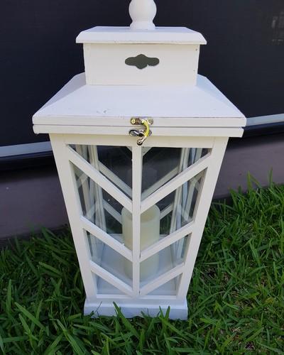 Tapered lantern 400