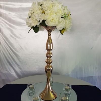 gold pedestal