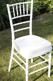 Tiffany Chair White
