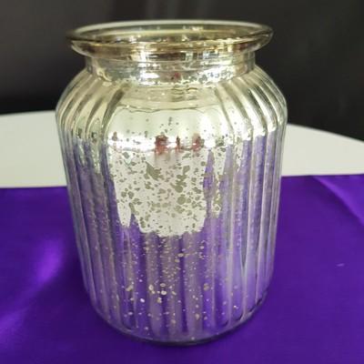 silver fleck vase 400