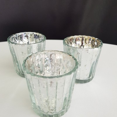silver tealight holders 400